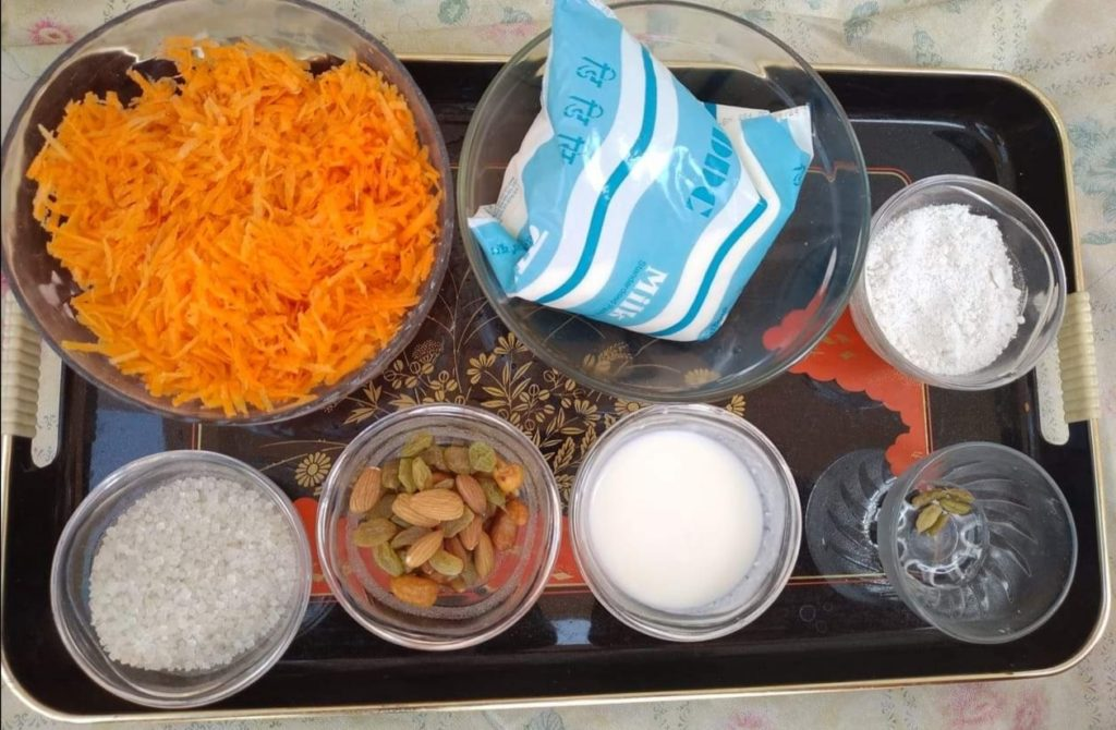 ingredients-gajar-ko-haluwa