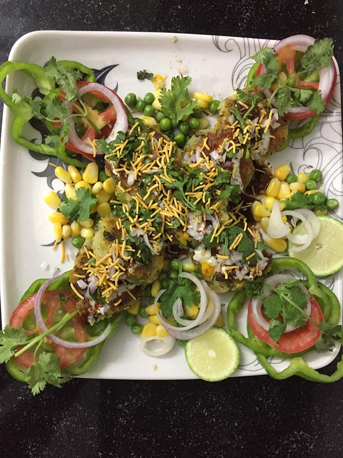 protein-tikki-chaat-writeweavers-dish